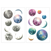 Print On Sticker- The moon